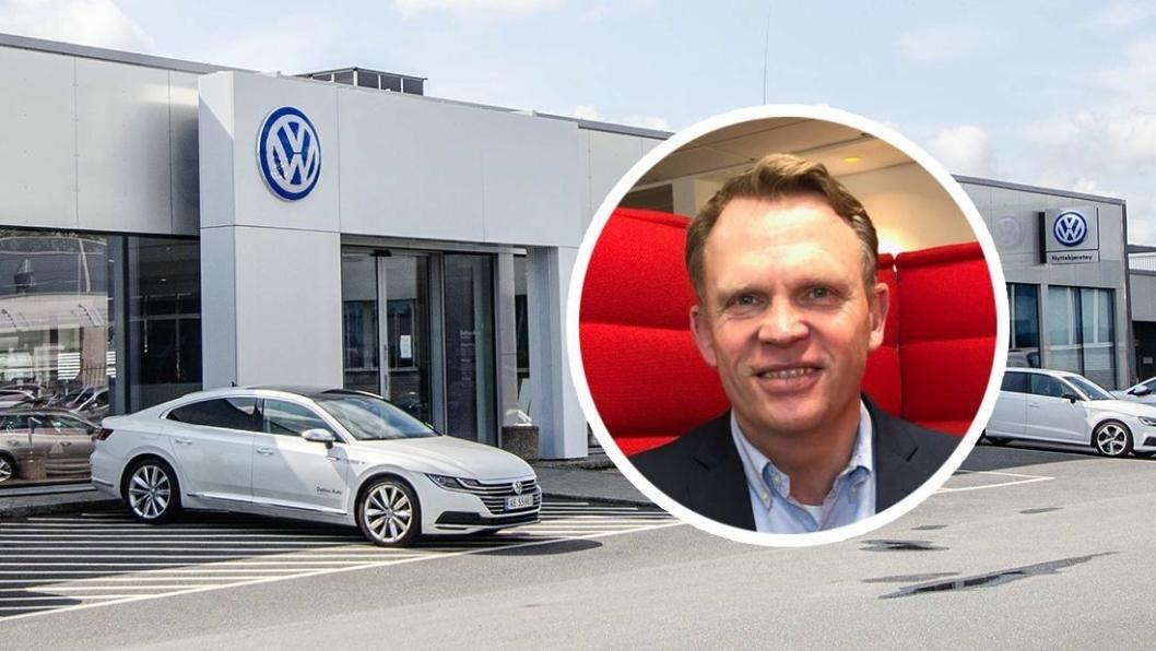 Dag Ropstad, salgsdirektør for Bilkanalen i Tryg/Enter.