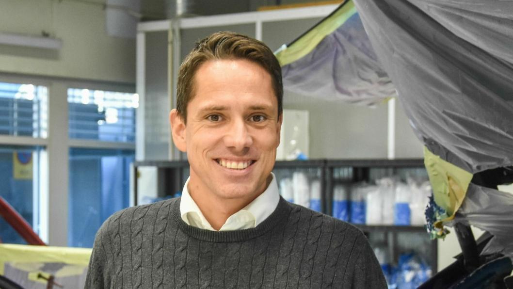 Svein Aarum, administrerende direktør i DK Skadesenter.
