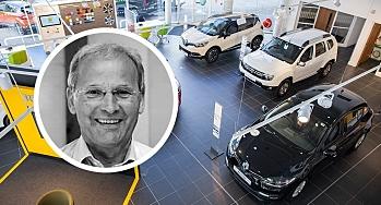 - Bilforhandlerne er blant de mest sårbare bedriftene