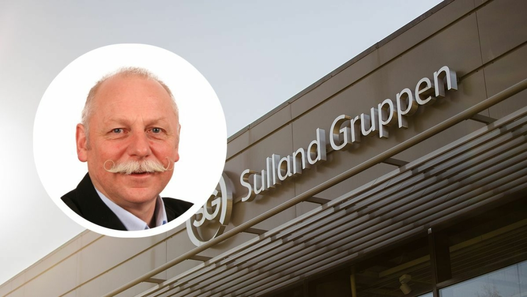 Visekonsernsjef Svein Arild Johnsgård i Sulland Gruppen.