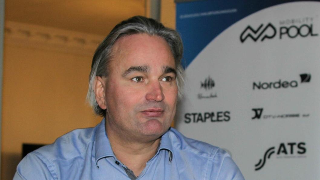 Daglig leder Morten Røsten i Mobility Pool.
