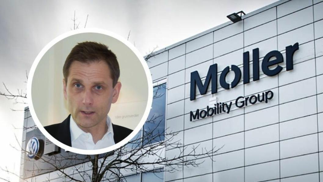 Konsernsjef Petter Hellmann i Møller Mobility Group.