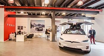 Tesla: Har ikke varslet permitteringer - moderat registreringstakt