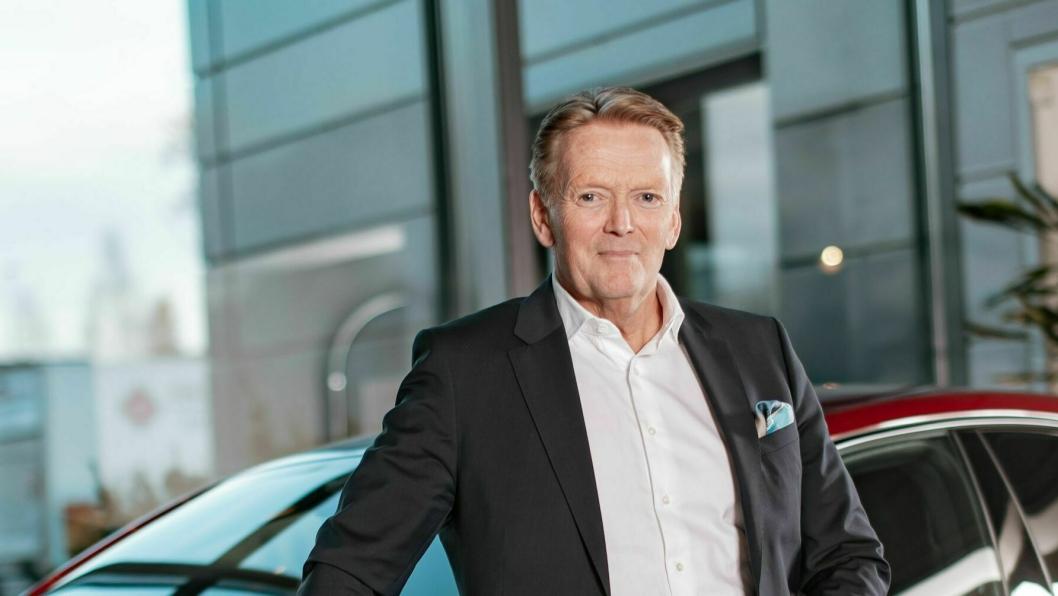Konsernsjef i Bertel O. Steen, Bjørn Maarud.