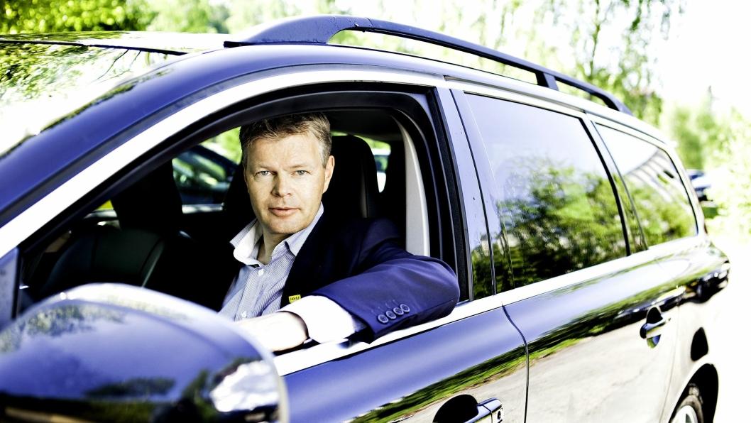 Trygve Simonsen er administrerende direktør i Hertz og leder av Bilutleieutvalget i NHO Reiseliv