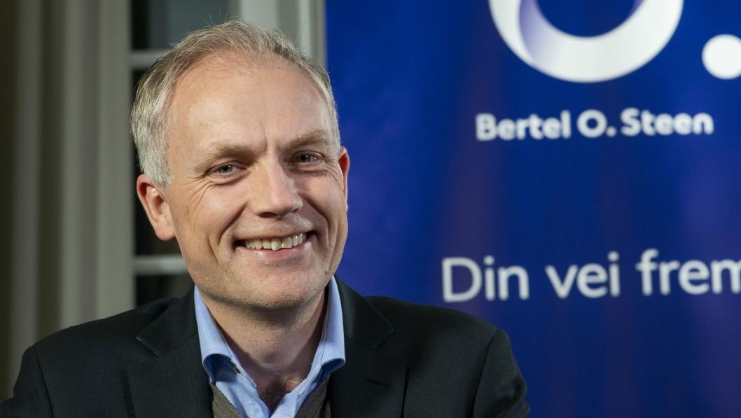 Harald Frigstad, ny konsernsjef i Bertel O. Steen.
