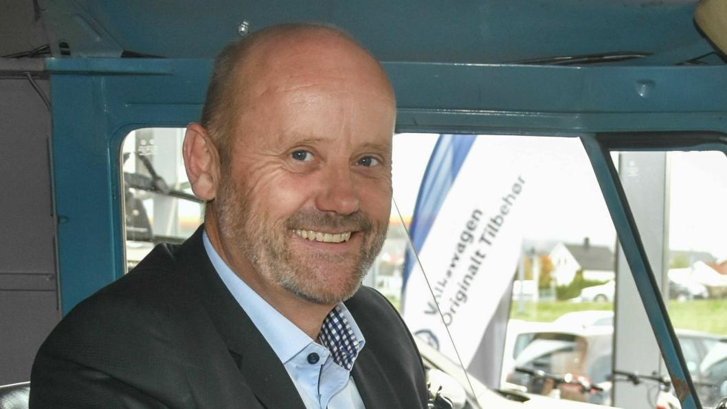 Daglig leder for Gumpens Auto Grenland, Jarle Midtbø.