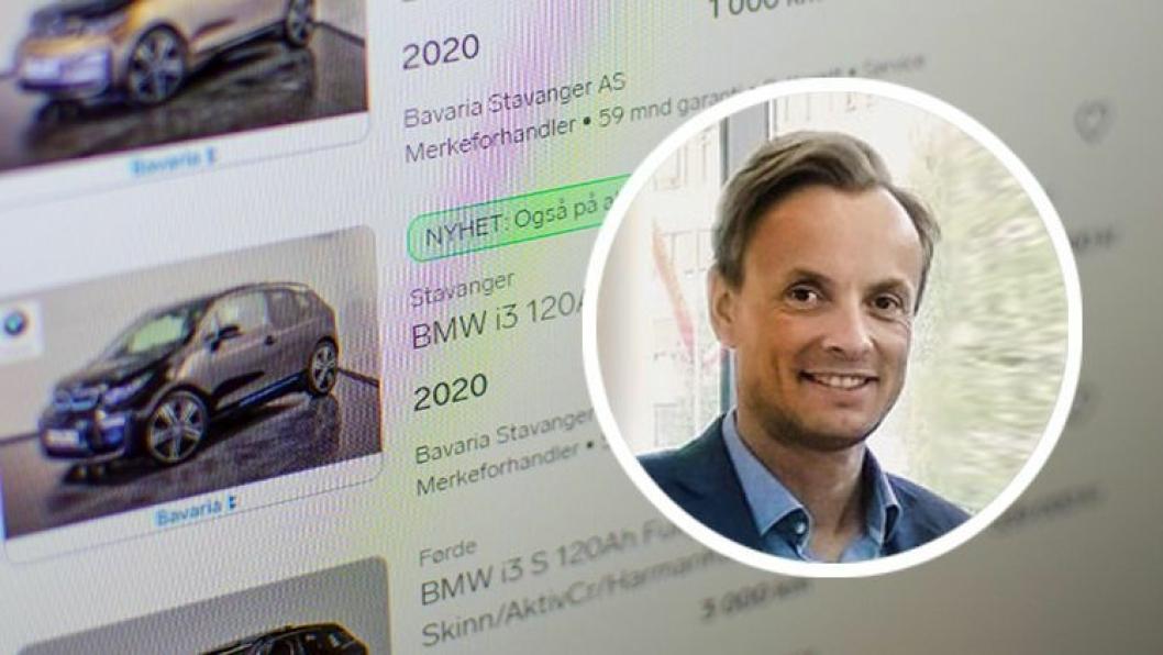 Morten Dahle, salgs- og markedsdirektør i Bavaria Norge.
