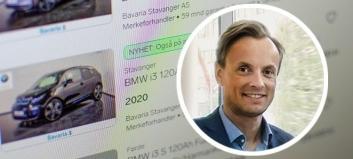 Bavaria med bilabonnement – får markedsføring på Finn