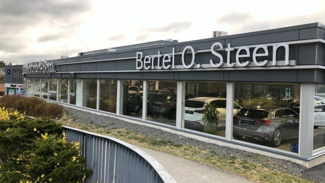 Bertel O. Steens anlegg i Vågsbygd rett utenfor Kristiansand.