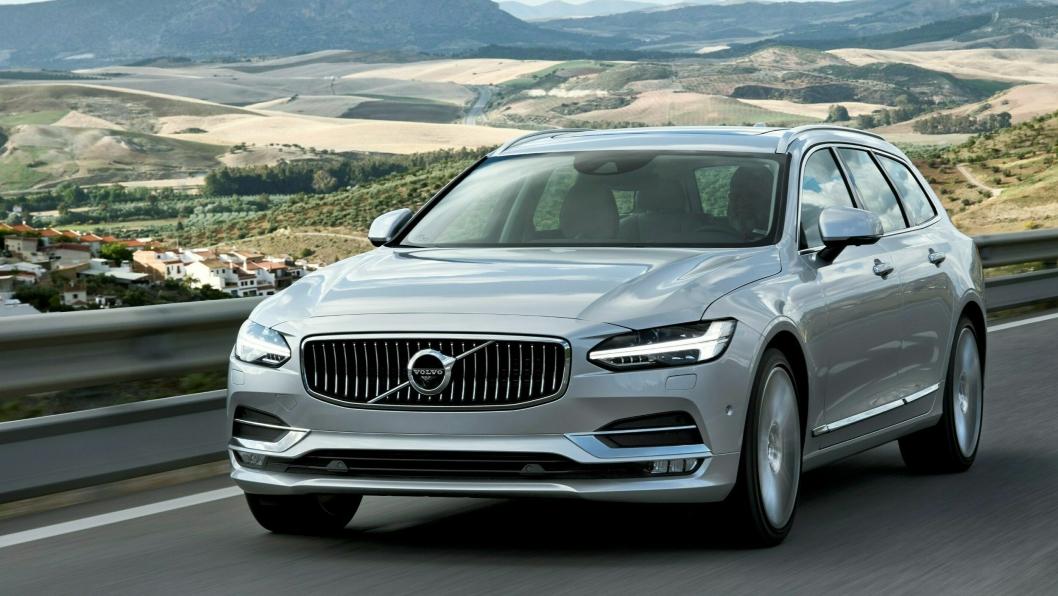 Volvo er blant merkene med høy leasingandel - og store volumer som forventes tilbakelevert i år.