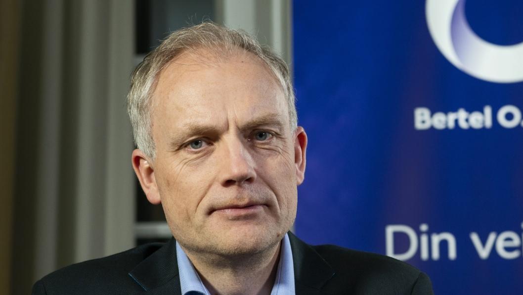 Harald Frigstad, konsernsjef i Bertel O. Steen.