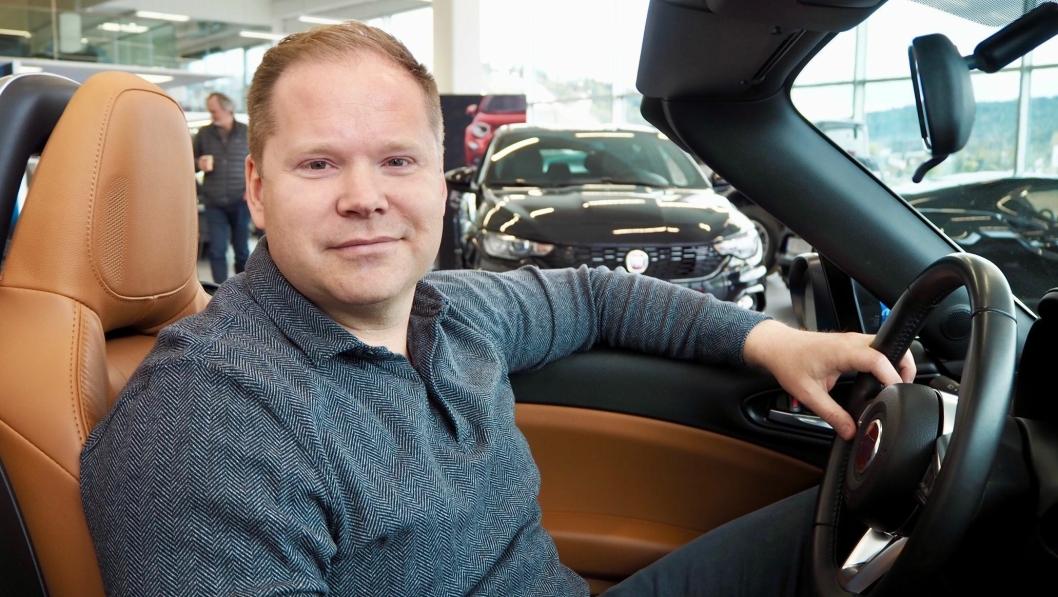 Christian Lagaard er ansatt som ny kommunikasjonsrådgiver i NBF.