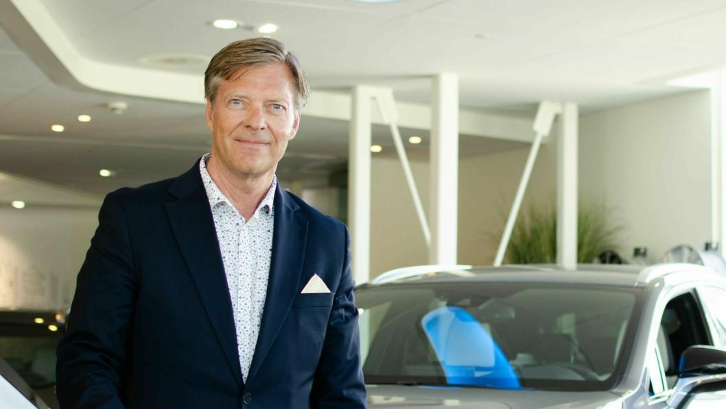 Knut-Erik Jahnsen, general manager Lexus Norge.