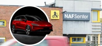 NAF blir servicepartner for Kina-merke - ønsker seg flere