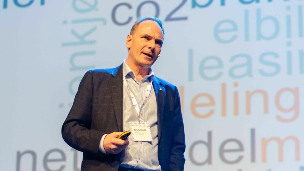 - Nå er tiden inne for en politikk som tilrettelegger for en skikkelig ryddesjau i personbilparken, mener NBF-sjef Stig Morten Nilsen.