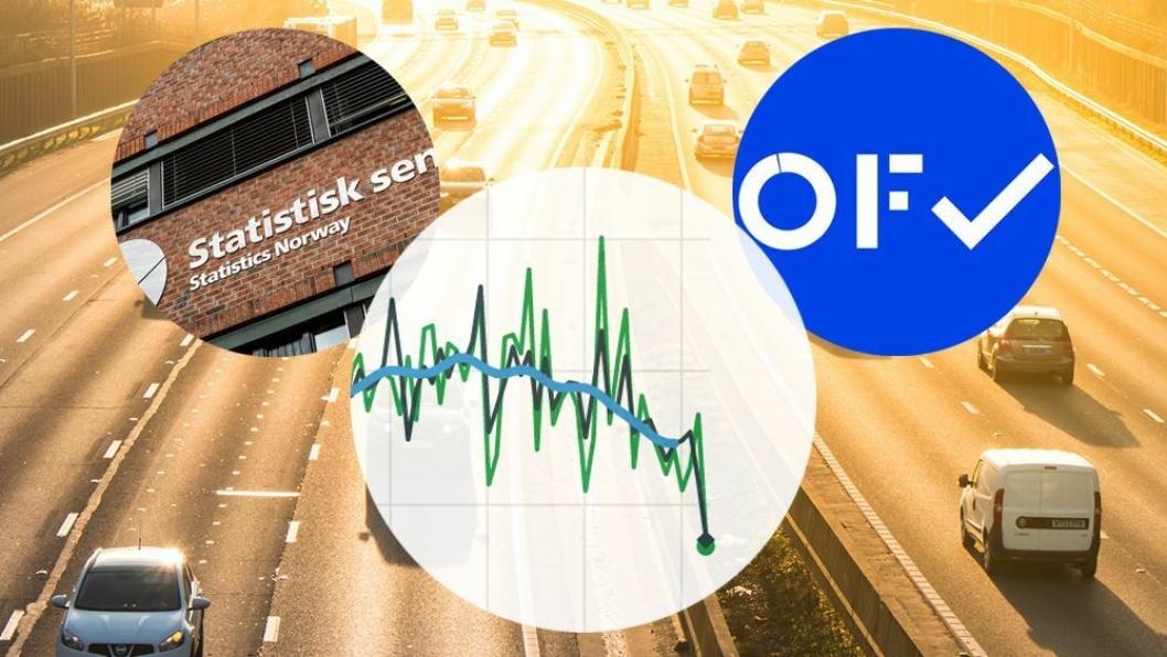 OFV og SSB opererer med ulike tall for personbilmarkedet.