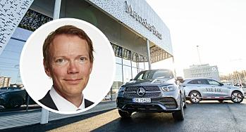 Mercedes-Benz til topps i