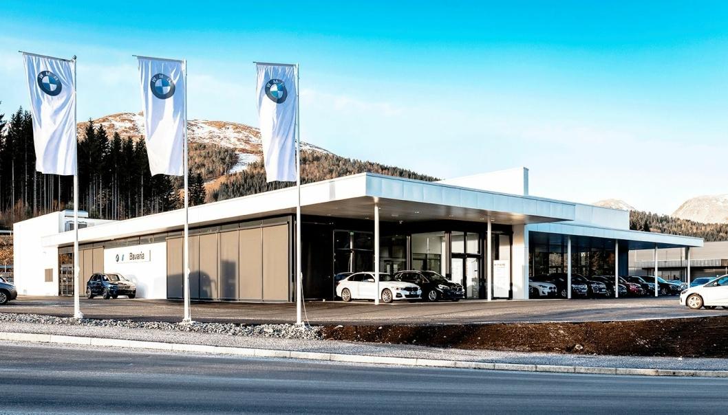 Bavaria kjøpte i juni i fjor BMW-forhandleren Brages Bil (Ålesund) og Brages Molde, som her er avbildet.