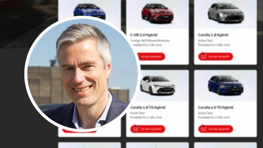 Informasjonssjef i Toyota Norge, Espen Olsen.