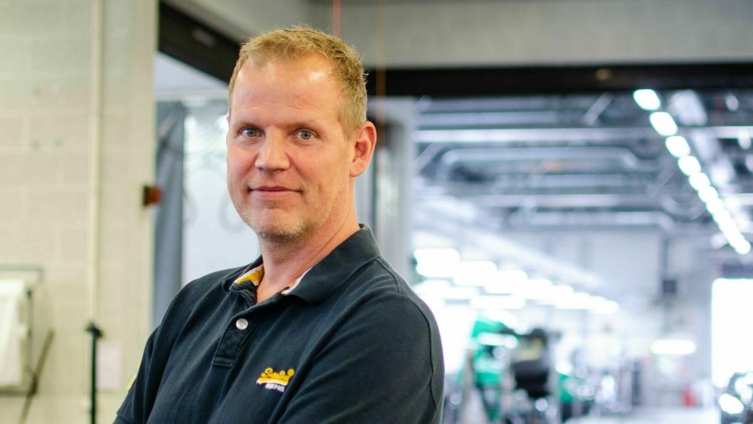 Tom Egil Kjelstad, daglig leder Bertel O. Steen Brobekk.