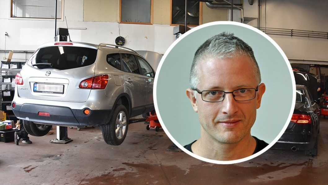 Senioringeniør Leif Magne Halvorsen i Statens vegvesen overvåker situasjonen rundt utsettelse av PKK.