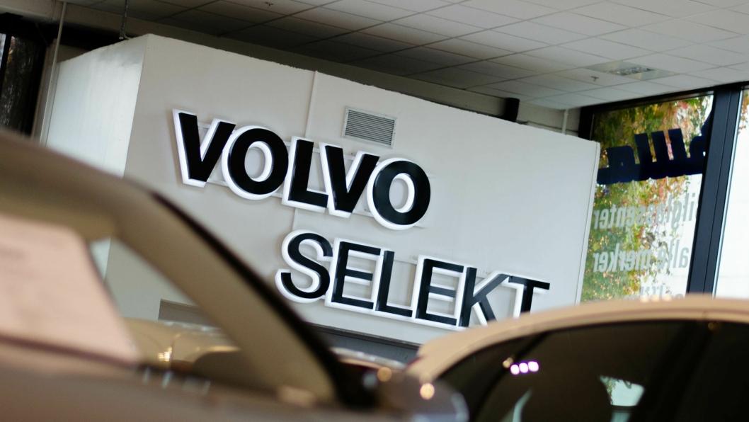 Volvo satt i fjor rekord i antall biler solgt gjennom bruktbilkonseptet «Volvo Selekt».
