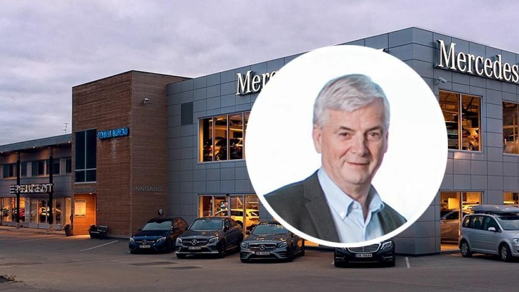 Oddvar Antonsen, styreleder og majoritetsaksjonær i Teknisk Bureau.