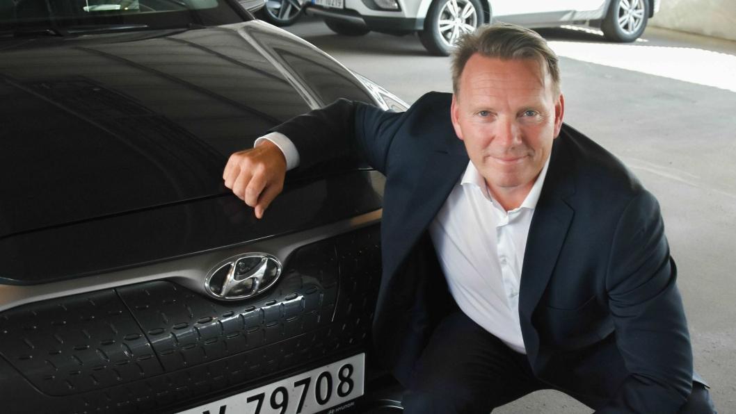 Thomas Rosvold, daglig leder for Hyundai Motor Norway.