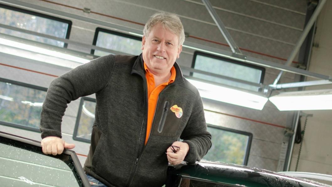 Harald Rømcke, eier og daglig leder i AutoIn Bilskade Senter AS.