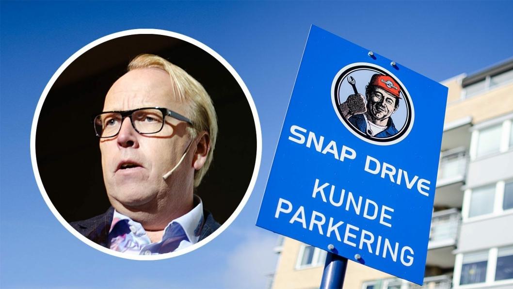 Morten Harsem, Snap Drive-direktør.