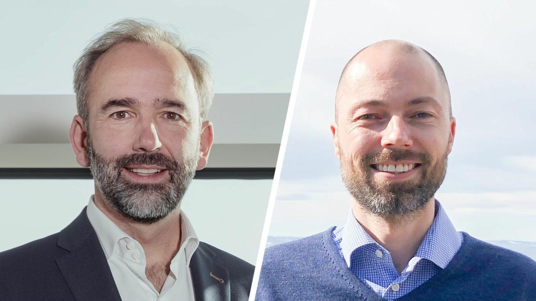 Baudouin Denis (t.v.) overtar 1. september som administrerende direktør i BMW Group Norge etter Lars Aamodt.