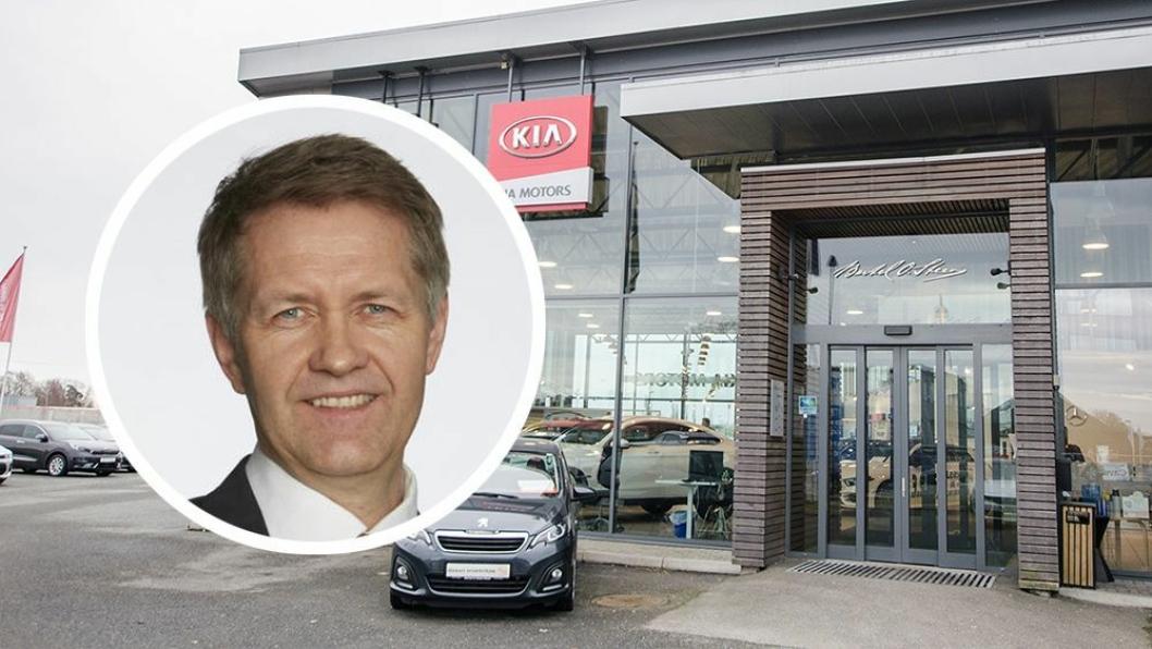 Øivind Solbakken er administrerende direktør i Bertel O. Steen Eiendom.