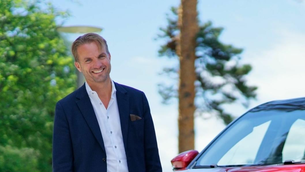 F. v.: Daglig leder i Zero Emission Mobility AS, Espen Strømme.