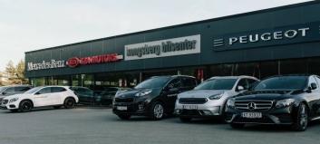 Mobile kjøper Kongsberg Bilsenter