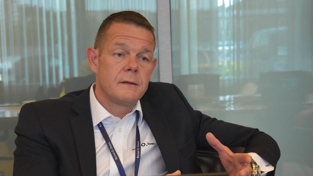 Thorbjørn Myrhaug, konserndirektør BOS Detalj.