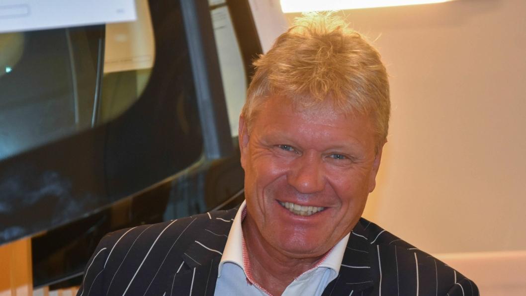 Morten Bjørlo har vært administrerene direktør for Hurtigruta Carglass siden 2011.