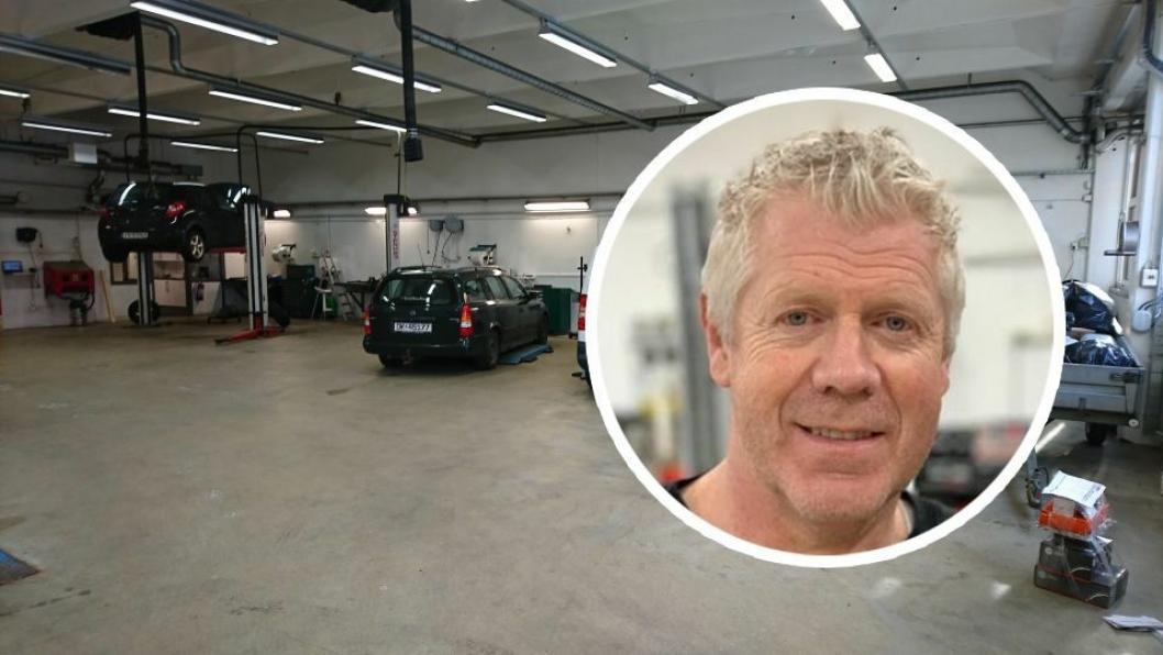 Bjørn Standal, daglig leder i Fixbil-kjeden.