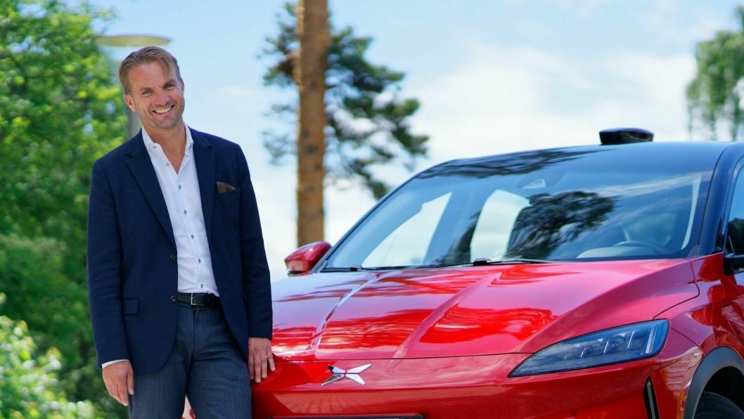 Daglig leder i Zero Emission Mobility AS, Espen Strømme.