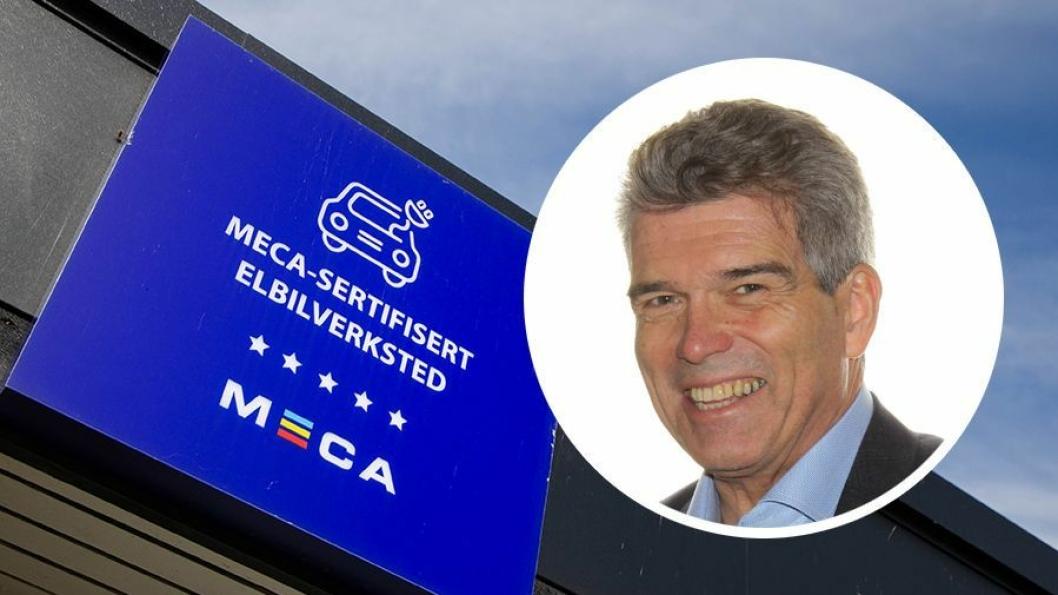 John-Axel Granberg er kjedesjef for Meca Norway.