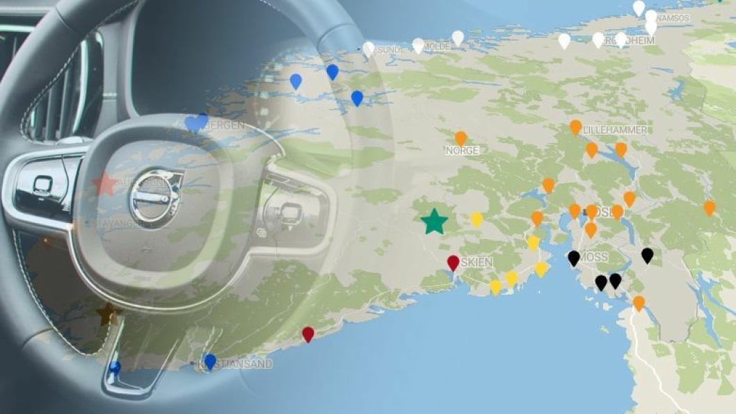 Volvo-nettverket kan ligge an til å bli ytterligere konsolidert.