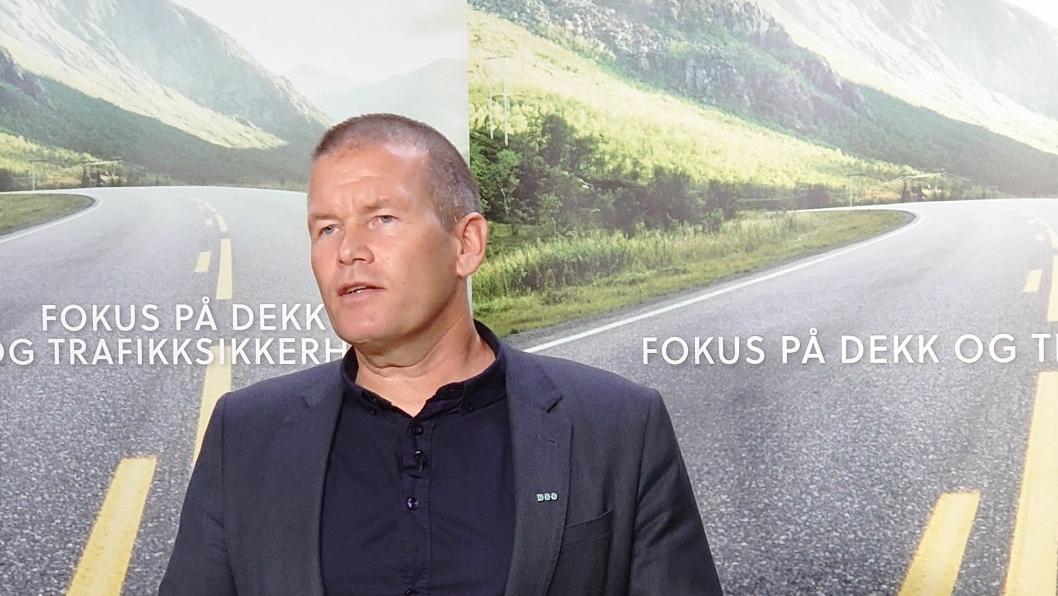 Områdeleder Tor Simonsen i Norges Bilbransjeforbund.