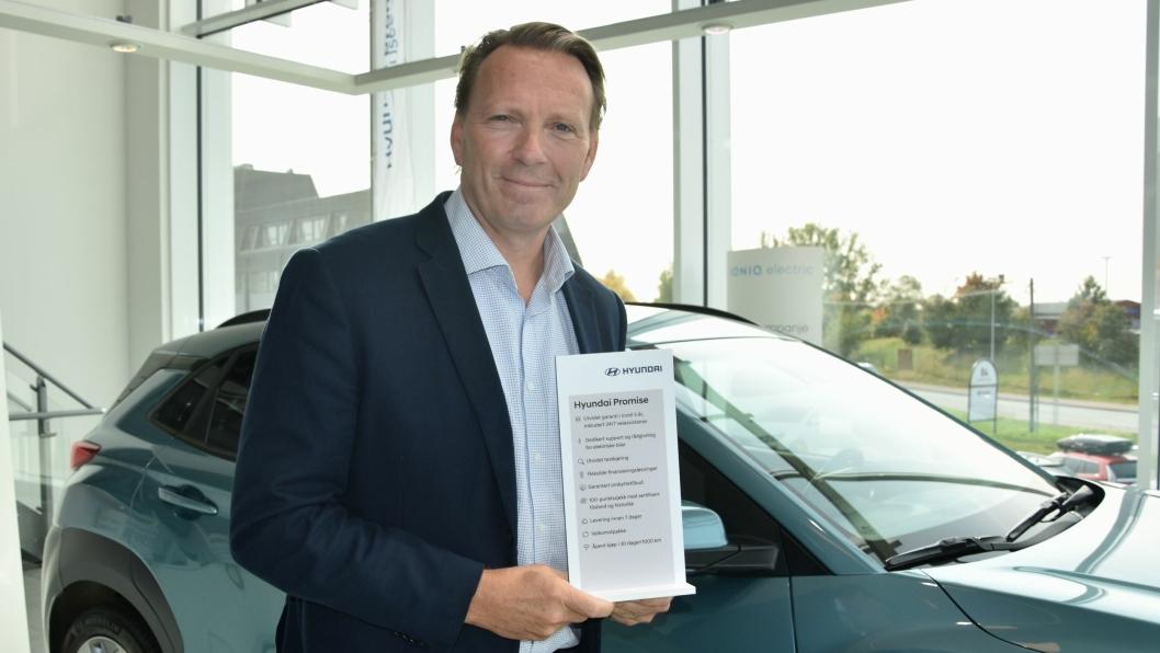Administrerende direktør i Hyundai Motor Norway, Thomas Rosvold.
