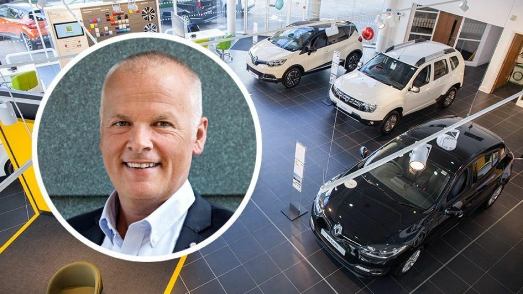 Tore Rylander er fagsjef bilsalg i Norges Bilbransjeforbund.