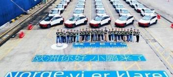 Disse forhandlerne skal selge Xpeng - bilene er på vei til Norge