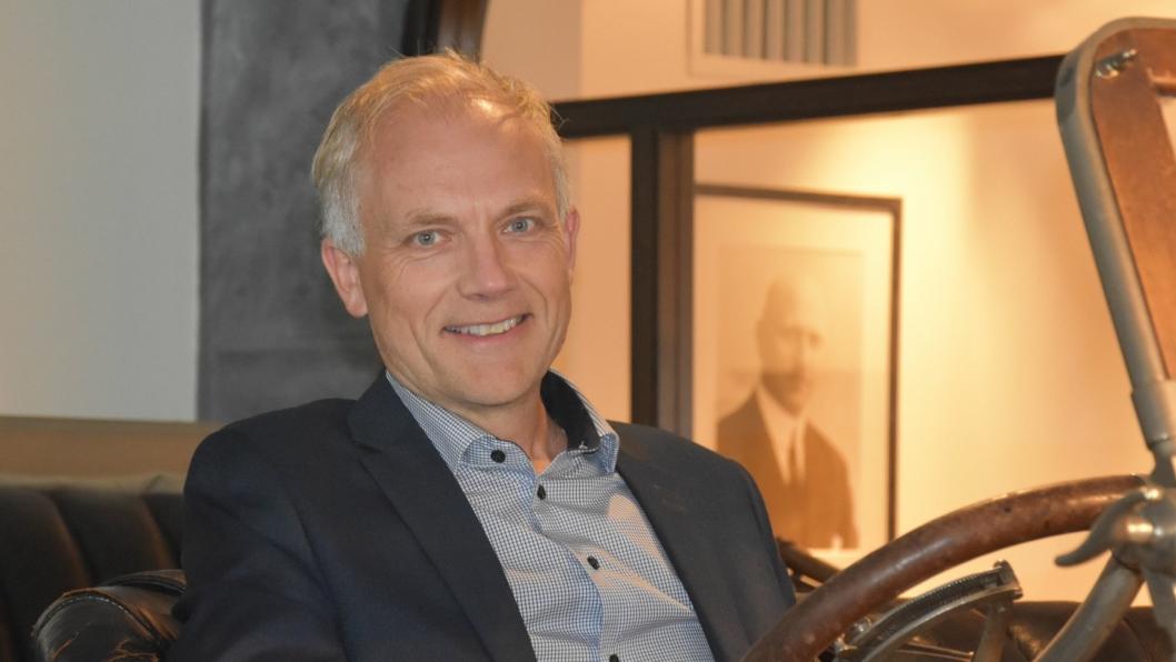 Konsernsjef Harald Frigstad i Bertel O. Steen.