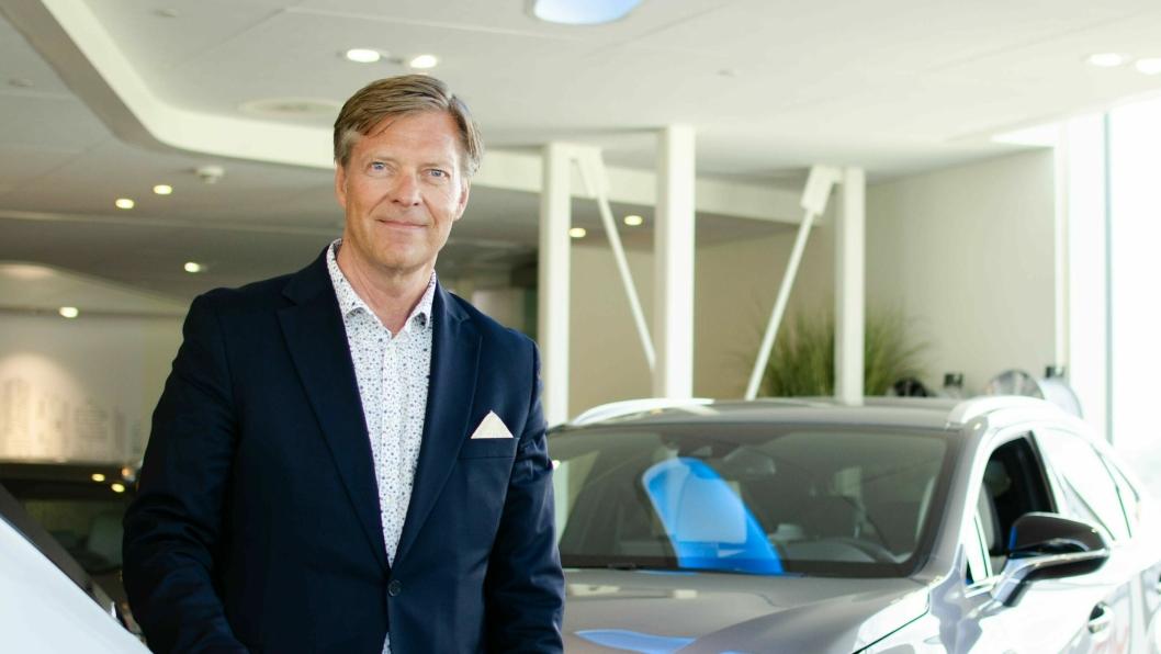 Knut-Erik Jahnsen er sjef for Lexus i Norge.
