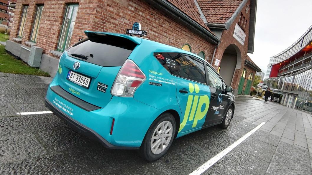Toyota dominerer taxi-salget. Mer enn hver fjerde nye drosje i år er en Toyota.