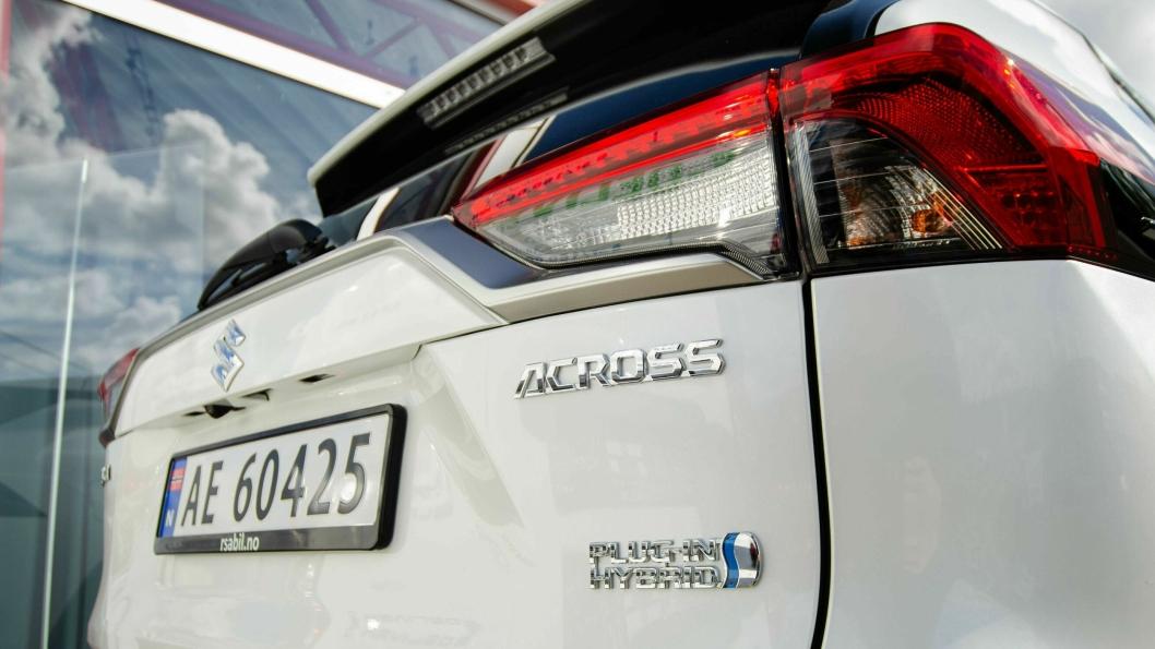 Suzuki Across kommer godt ut av avgiftsendringene med sine 75 kilometer elektriske rekkevidde.