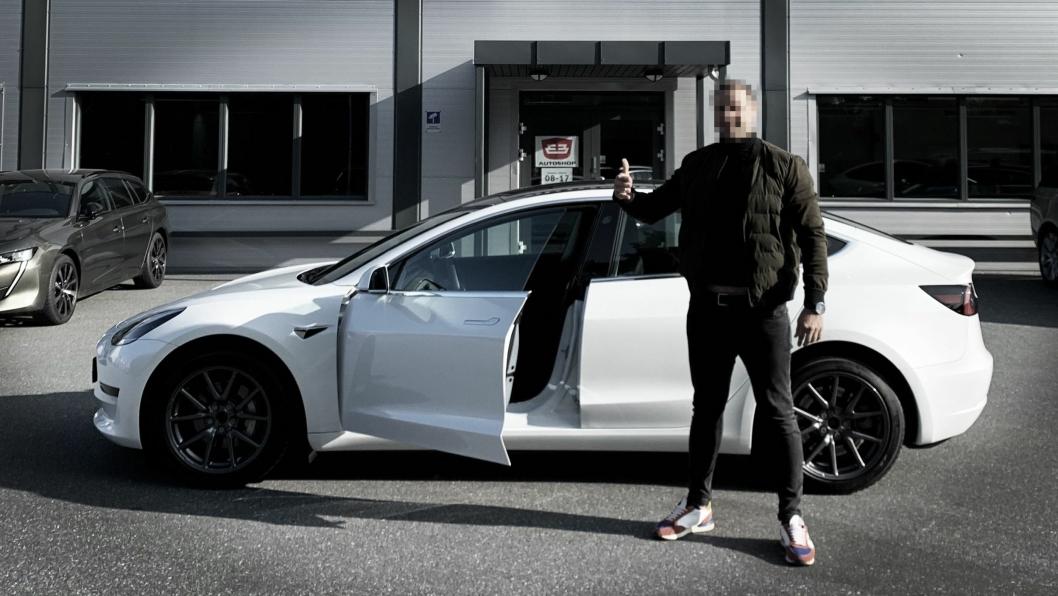 Finansieringsselskapet stanset utbetaling og av nær en halv million kroner i forbindelse med salg av bil til denne kunden. Bilbransje24 har valgt å skjule mannens identitet.